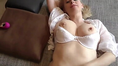 Mature MILF Gets CUM In Pussy From Postman