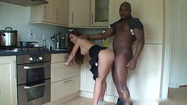 Black man fuck amazing wife milf