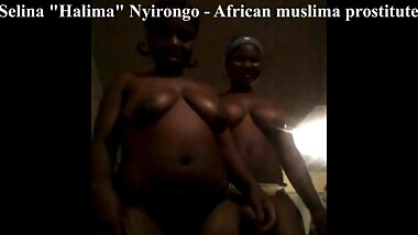 Selina Nyirongo - mom and daughter African prostitues