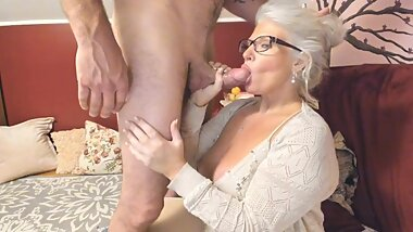Curvy MILF Rosie: Mommy Blows Your Bully Part 3. Anniversary. Cuckold Stepson!