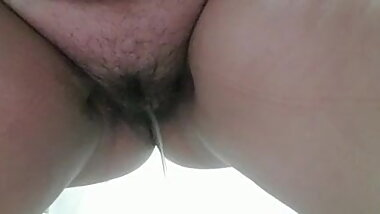 My wife pissing